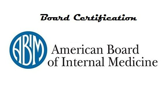 Board Certification